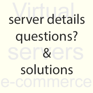 Server information with Great Lakes Web Hosting