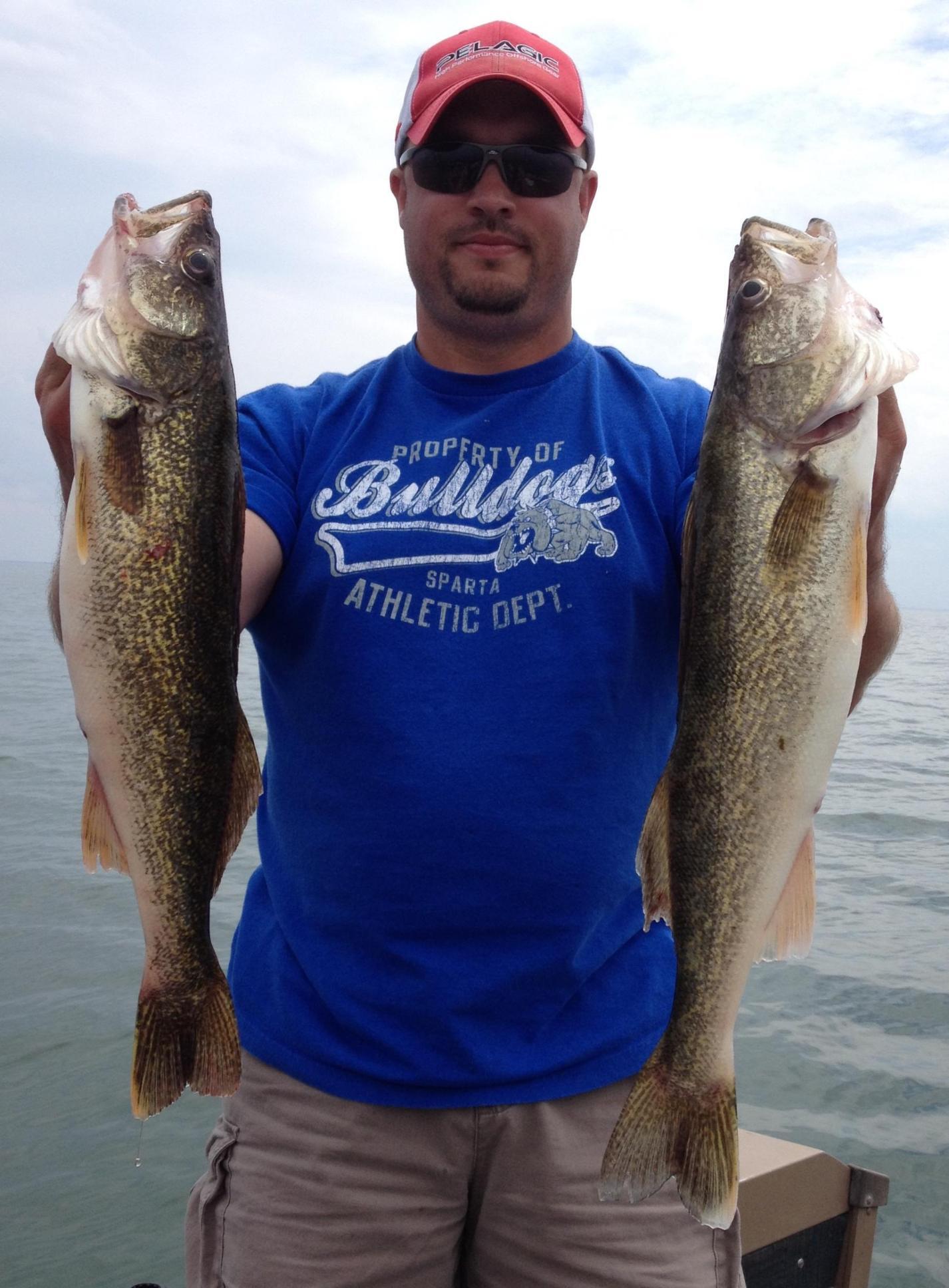 Saginaw bay weekly fishing report saginaw bay area for East bay fishing report