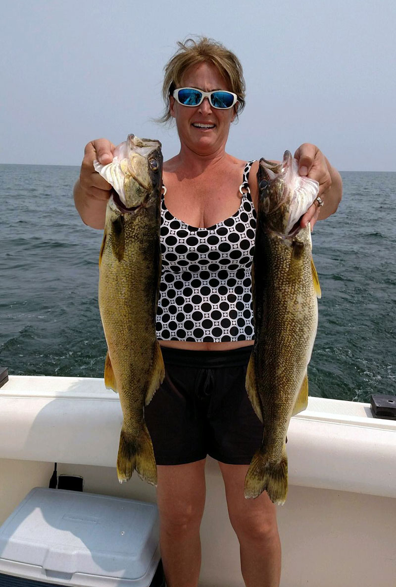 saginaw bay weekly fishing report saginaw bay area