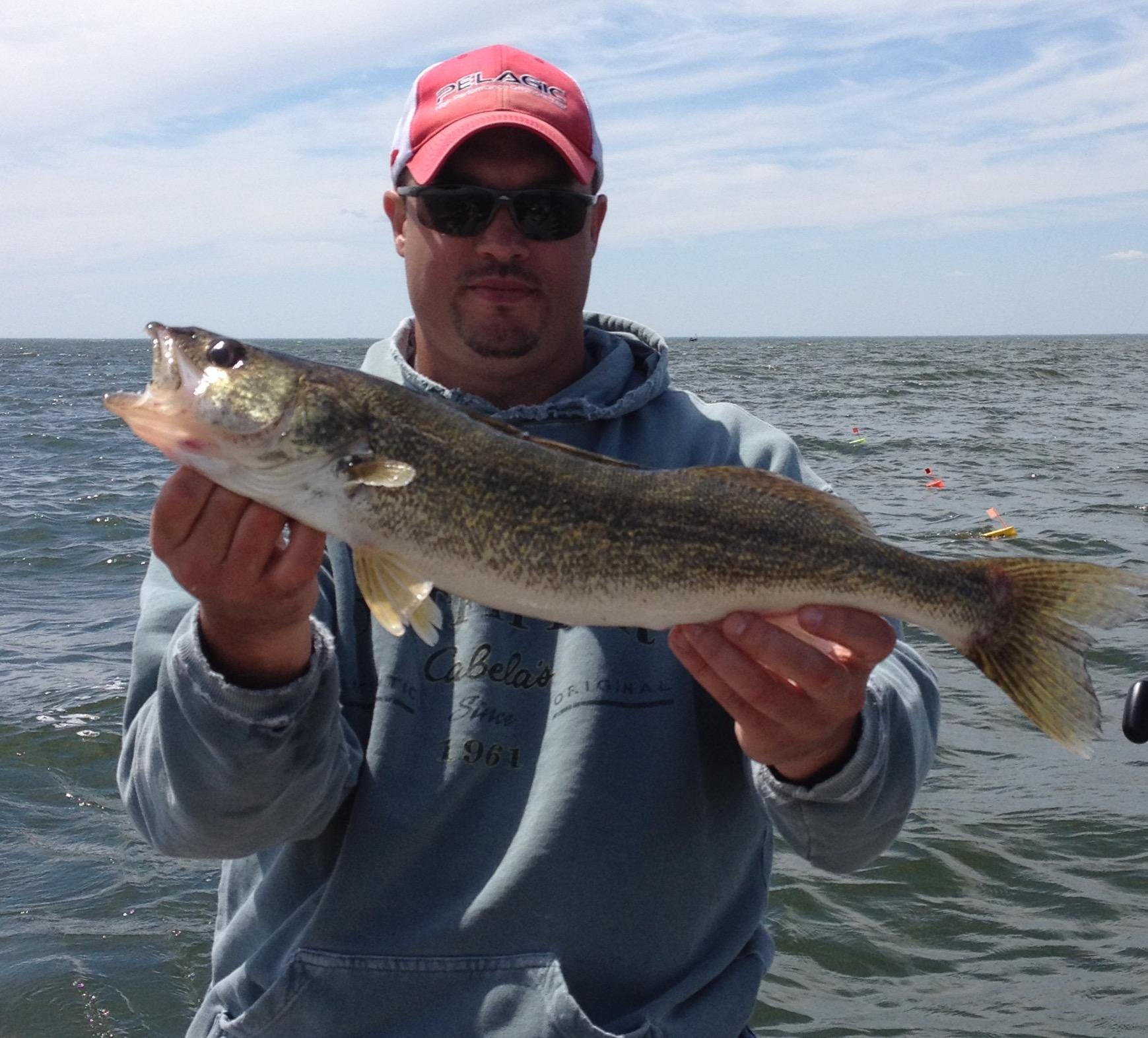 Saginaw bay weekly fishing reports saginaw bay area for Fishing report bay area