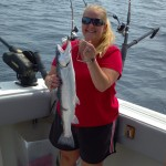 Harbor Beach Fishing Report: 8/24/12