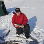 Saginaw Bay Area Fishing Report  1/31/2013