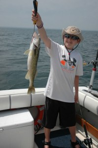 Nice Saginaw Bay walleye