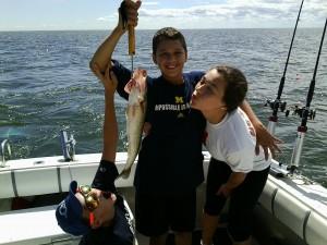 Saginaw bay fishing report 8 15 2013 saginaw bay area for Fishing report bay area