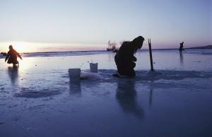 Ice fishing coming soon!