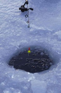 Ice fishing will be here soon
