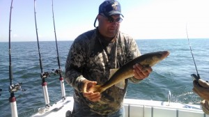 Au Gres walleye fishing