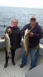 Harbor Beach fishing