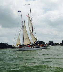 Appledore out on Saginaw Bay