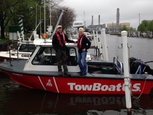 Captains Jim and Sara Moore are the new owners of TowBoatUS Bay City
