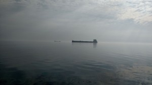 Early morning on Lake Huron
