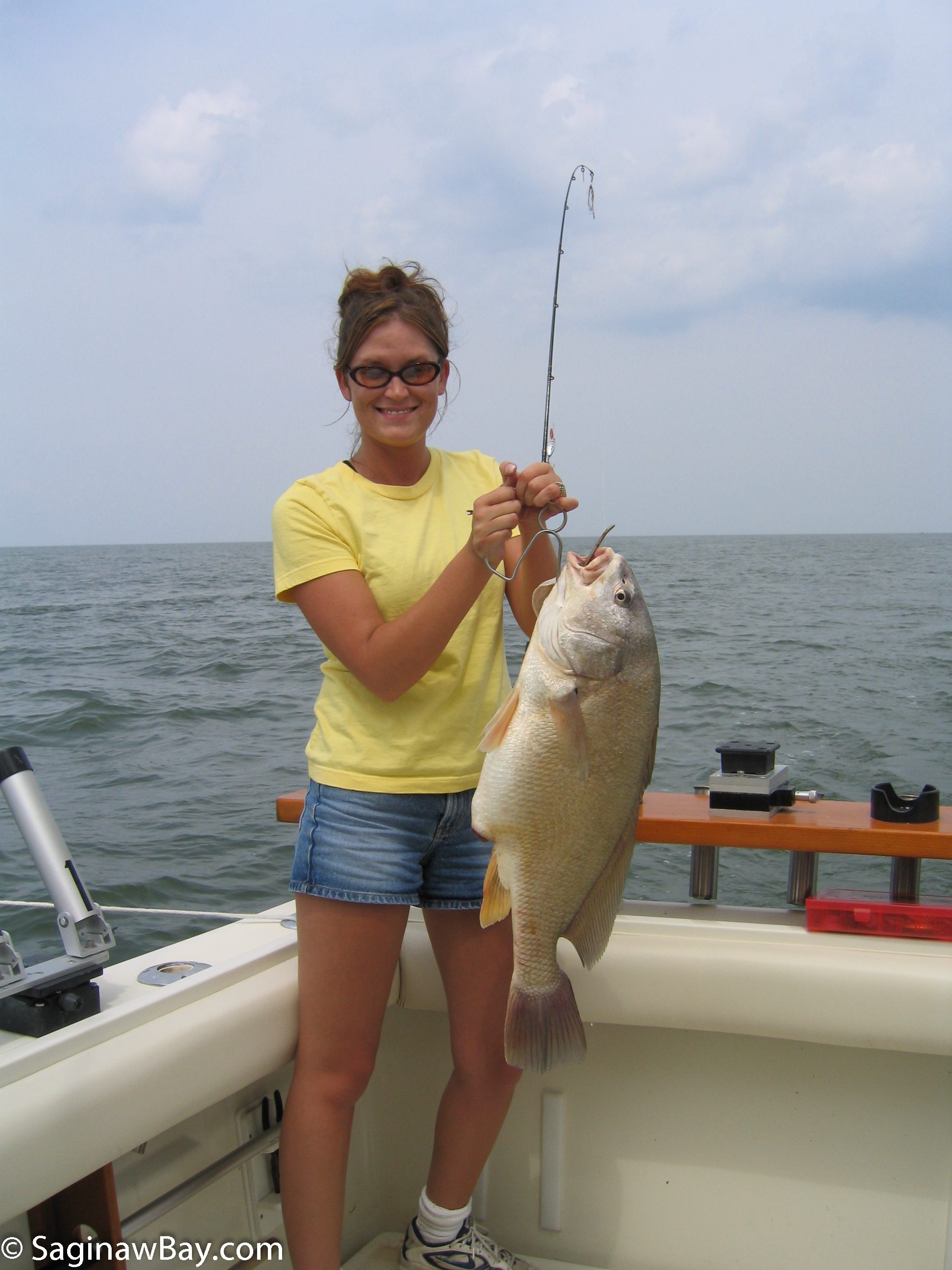 Photo gallery saginaw bay area for Saginaw river fishing report