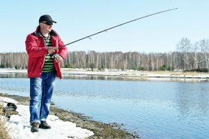Saginaw bay area weekly fishing report 03 02 2017 for Saginaw river fishing report
