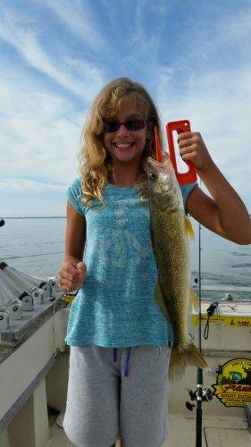 Bay charters saginaw bay area for Fishing report bay area