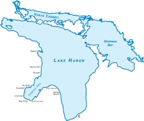 Lake huron charters saginaw bay area for Lake huron fishing report