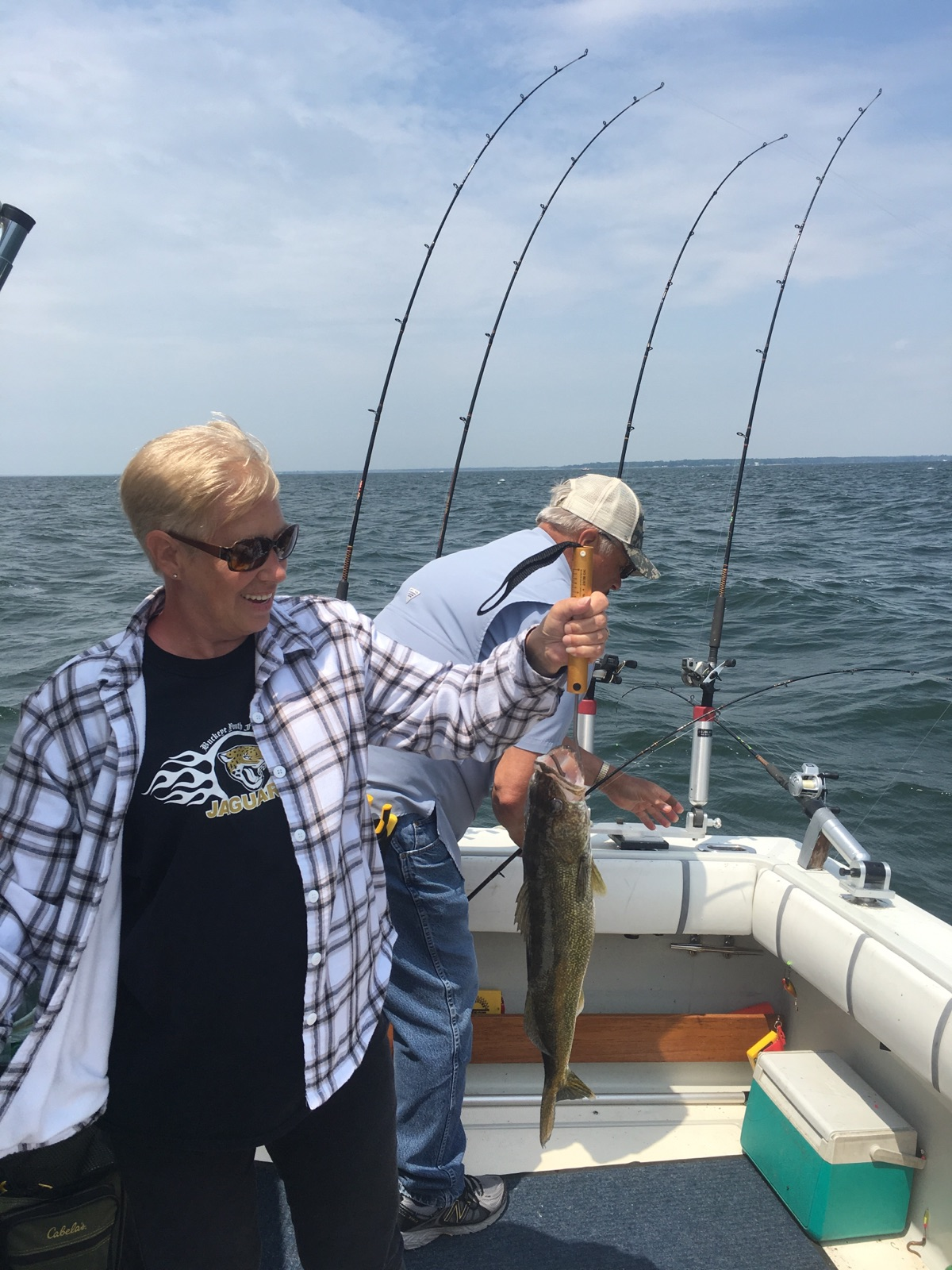 Saginaw bay walleye action is hot saginaw bay area for Saginaw river fishing report