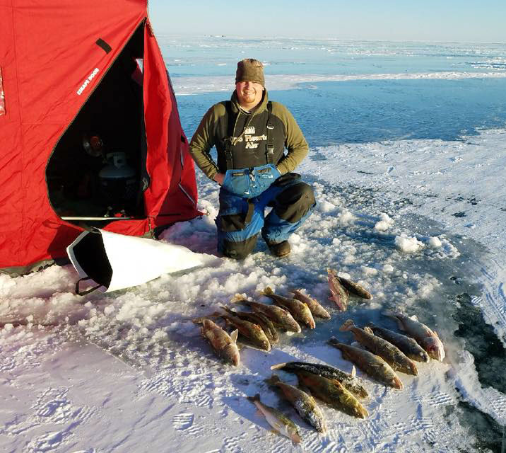 Saginaw bay updated fishing report saginaw bay area for Saginaw river fishing report