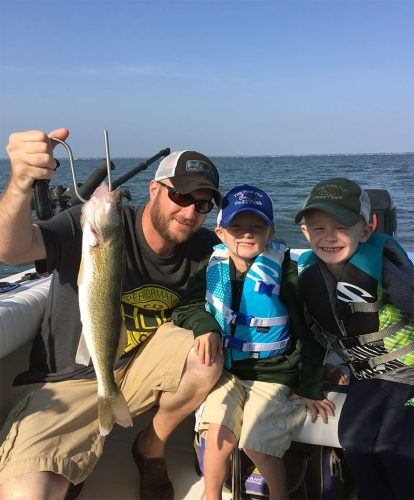 The fish fly charters saginaw bay area for Fly fishing bay area
